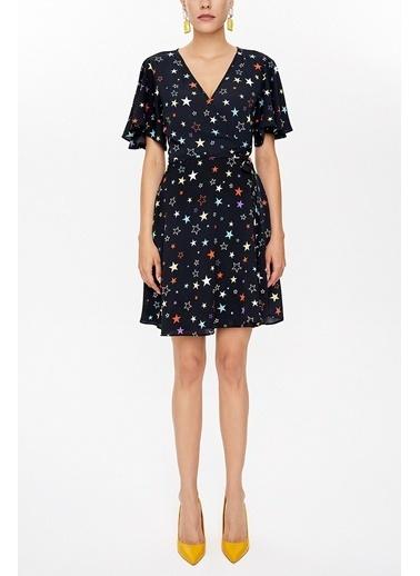 Societa Anvelop Mini Elbise 93225 Antrasit